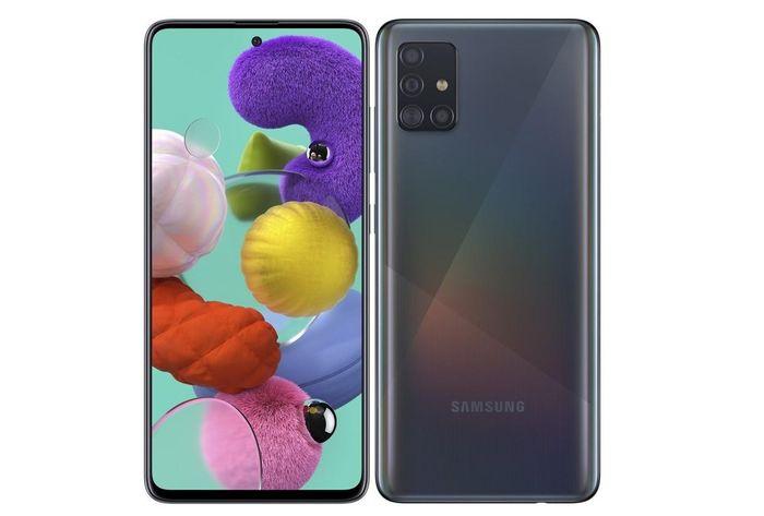 Mobilní telefon vhodný pro děti Samsung Galaxy A51