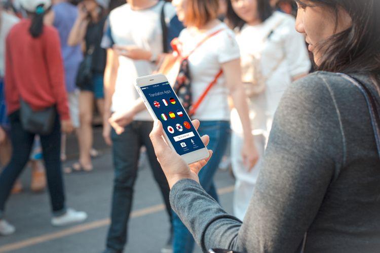 Překladač– aplikace v mobilu