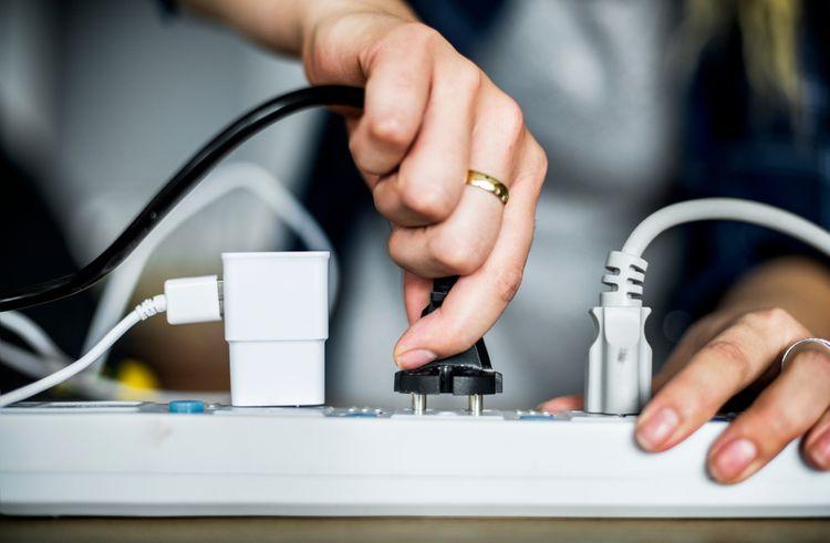 Prodlužovací kabel pro vnitřní použití