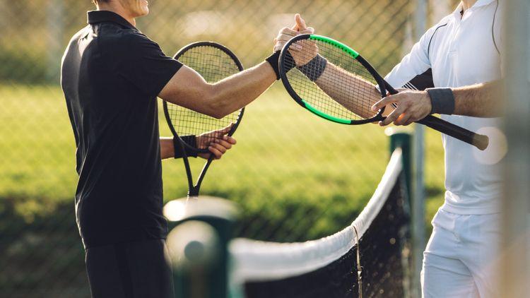 Značka tenisové rakety