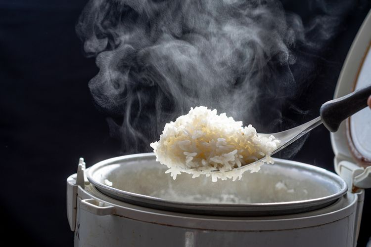 Elektrický hrnec na vaření rýže