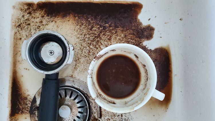 Čištění pákového kávovaru