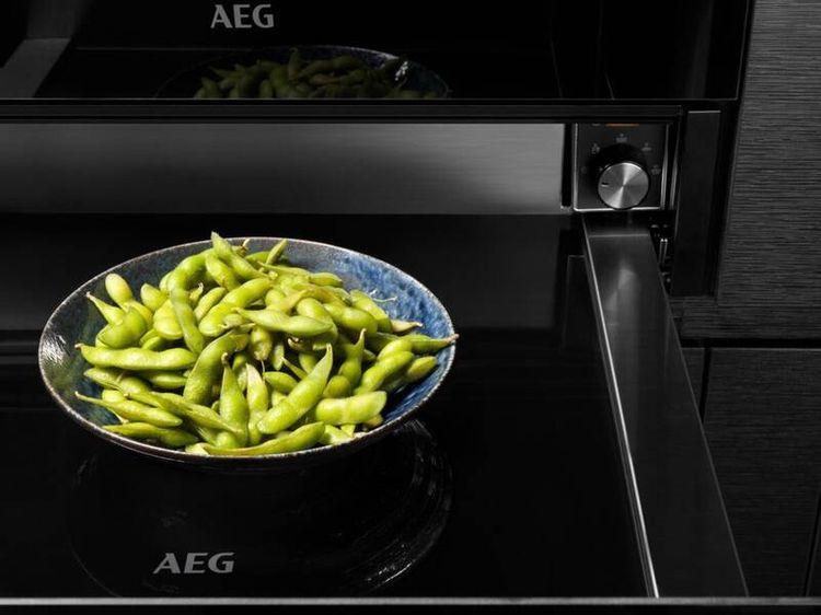 Výška ohřevné zásuvky AEG