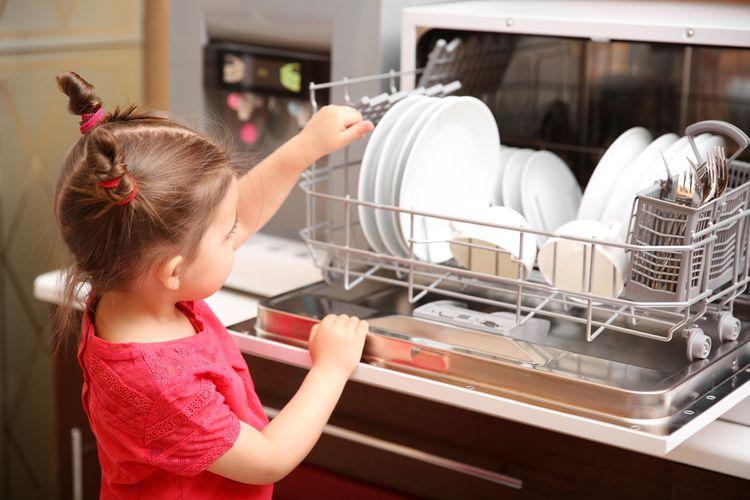 Jak vybrat stolní myčku nádobí
