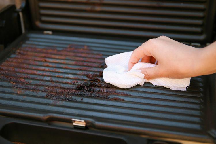 Jak vyčistit elektrický gril
