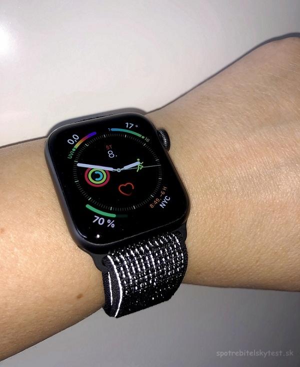 Reflexní náramek Apple Watch Sereis 4 Nike+
