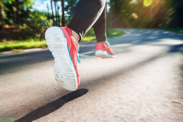 Obuv na běhání