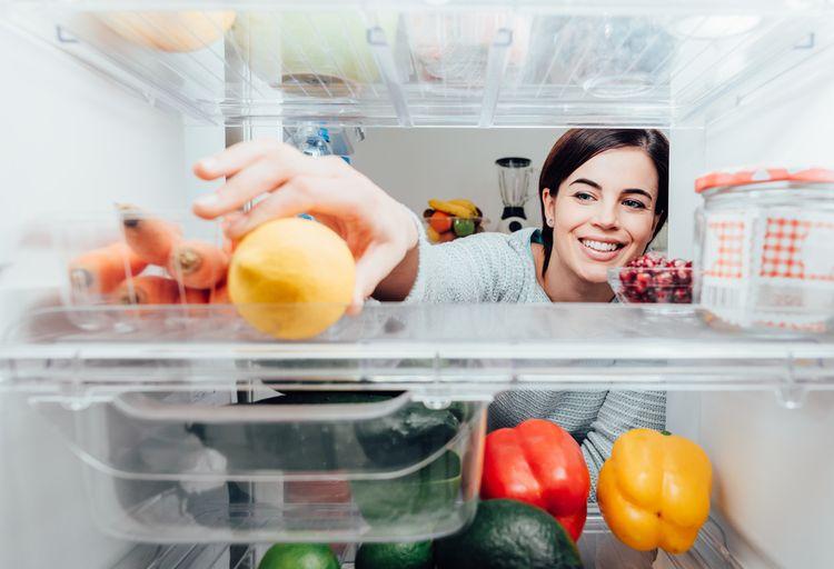 Jídlo v ledničce