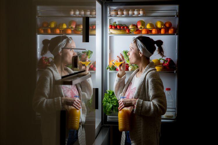 Vyjídání lednice