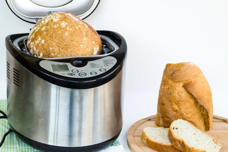 Bramborový chléb z domácí pekárny