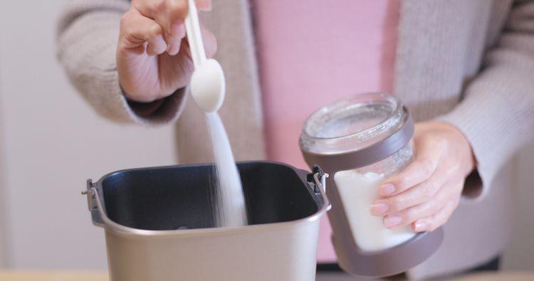 Příprava džemu v domácí pekárně