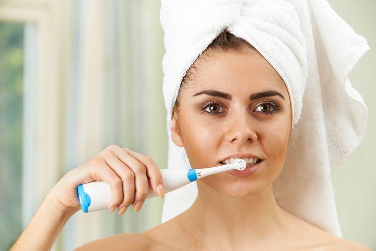 Kvalitní elektrický zubní kartáček