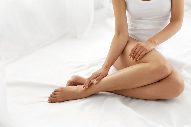 Hladké nohy po depilaci