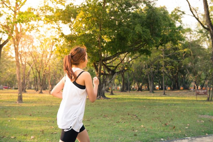 Cvičení s fitness náramkem