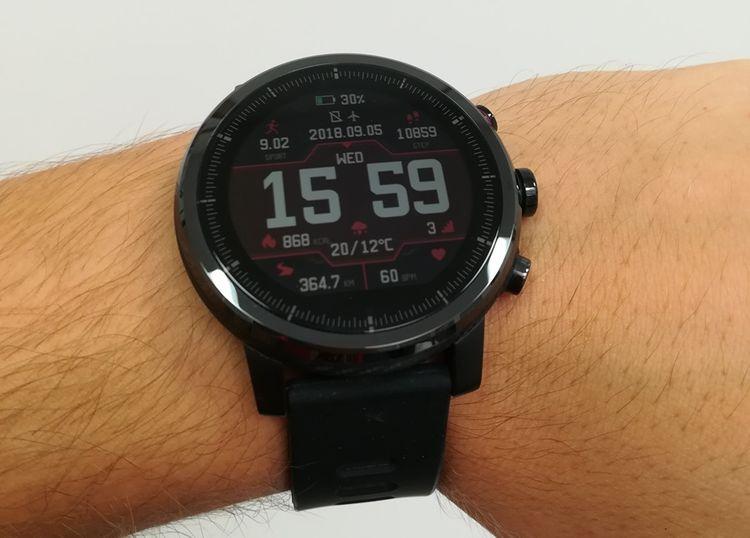 Chytré hodinky Xiaomi Amazfit 2 Stratos recenze