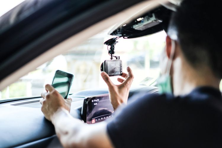 Kamera do auta s Wi-Fi