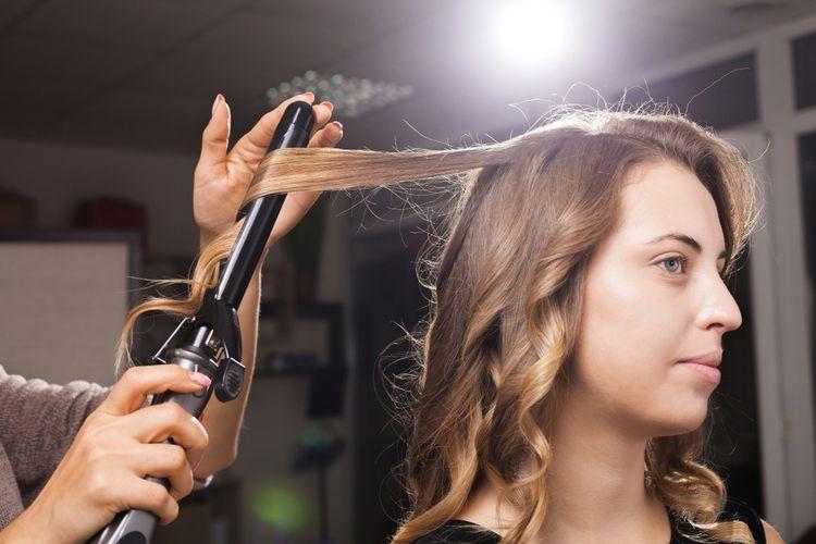 Klíšťová kulma na vlasy