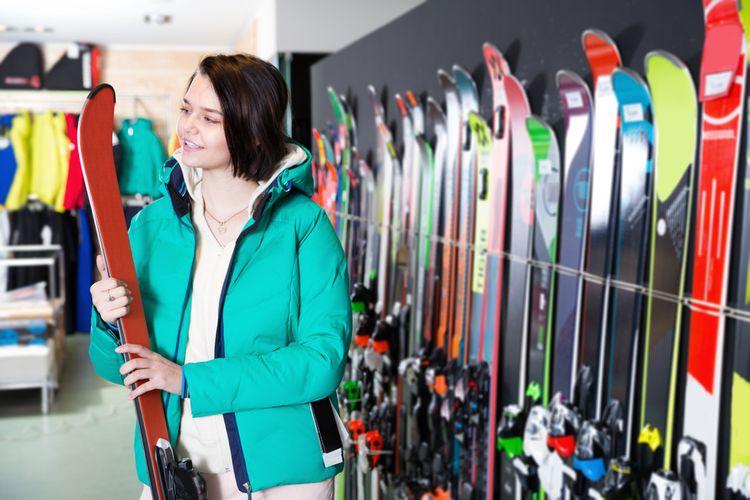 Vyběr lyží