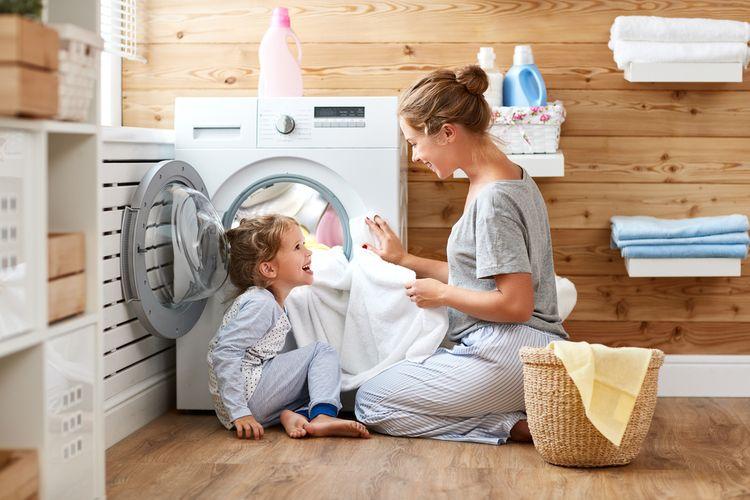 Praní v pračce