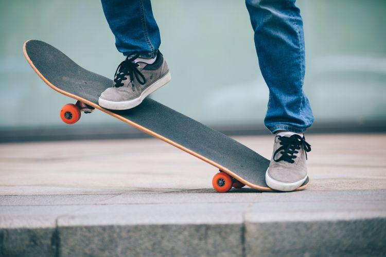 Jízda na skateboardu