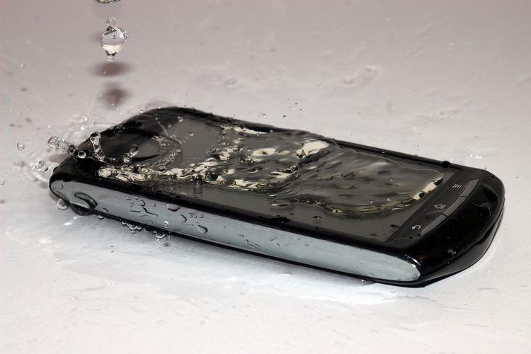 Vodotěsný telefon