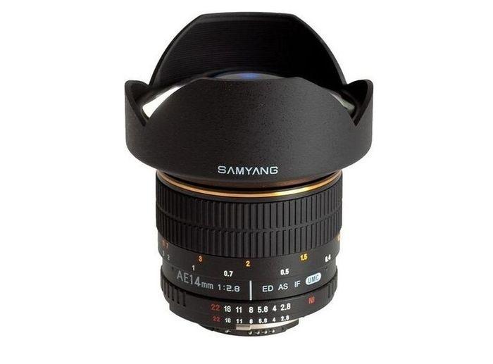 Samyang 14 mm f/2,8 ED IF UMC recenze