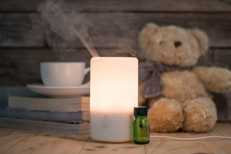 Zvlhčovač s aromaterapii