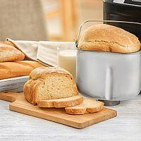 Domácí pekárna recepty: celozrnný, bramborový chléb, vánočka, bagety