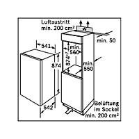 Mraznička Bosch GID 18A50