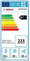 Kombinace chladničky s mrazničkou Bosch KGE36AL32