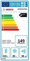 Kombinace chladničky s mrazničkou Bosch KGE36AW42
