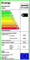 Sklokeramický sporák Gorenje EC 51102 AW